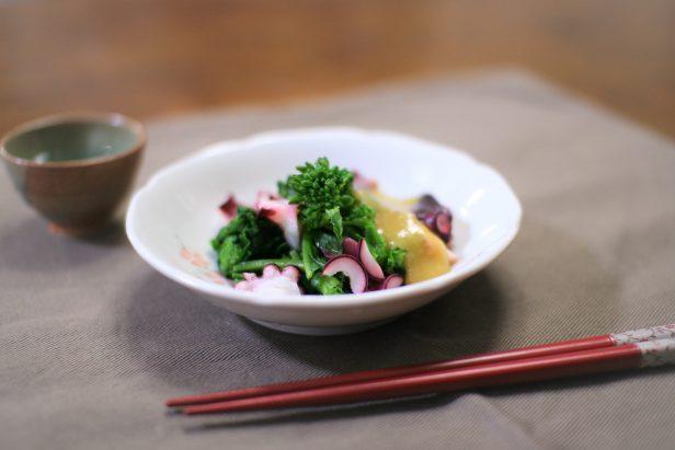 無農薬有機栽培小松菜菜の花
